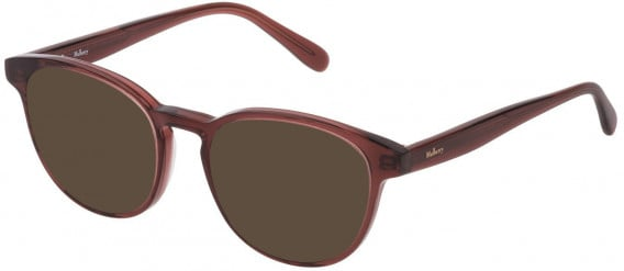Mulberry VML012 sunglasses in Transparent Antique Pink