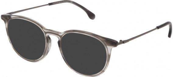 Lozza VL4223 sunglasses in Shiny Striped Grey