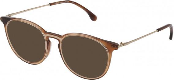 Lozza VL4223 sunglasses in Shiny Medium Havana
