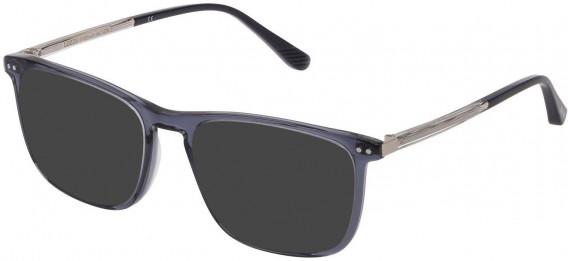 Lozza VL4221 sunglasses in Shiny Blue/Grey