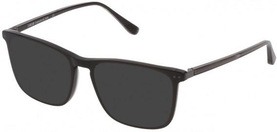 Lozza VL4221 sunglasses in Shiny Black