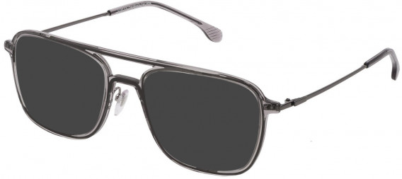 Lozza VL4213 sunglasses in Transparent Grey