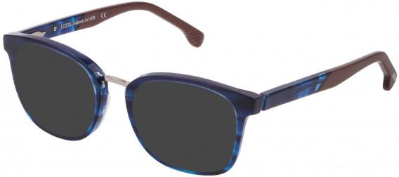 Lozza VL4176 sunglasses in Shiny Gradient Blue