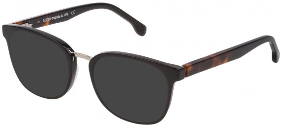 Lozza VL4176 sunglasses in Black Super Black