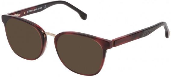 Lozza VL4176 sunglasses in Shiny Cyclamen Havana