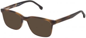 Lozza VL4174 sunglasses in Shiny Brown/Yellow Havana
