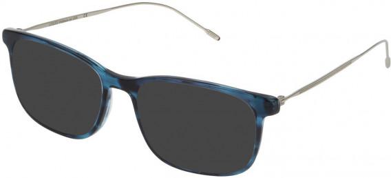 Lozza VL4172 sunglasses in Shiny Striped Blue