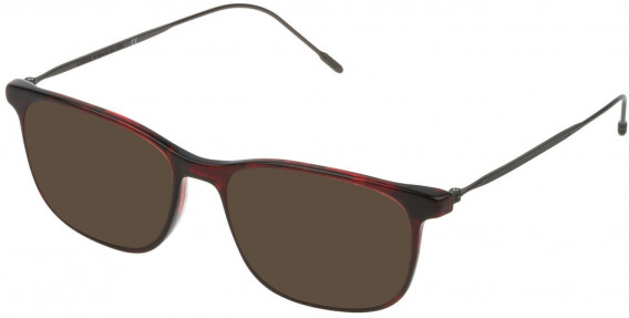 Lozza VL4172 sunglasses in Shiny Striped Red