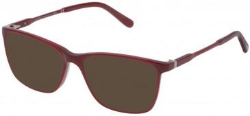 Lozza VL4170 sunglasses in Shiny Opal Red