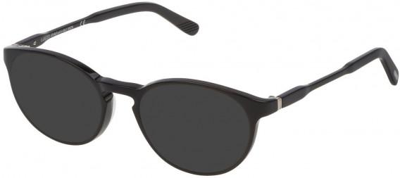 Lozza VL4169 sunglasses in Black Super Black