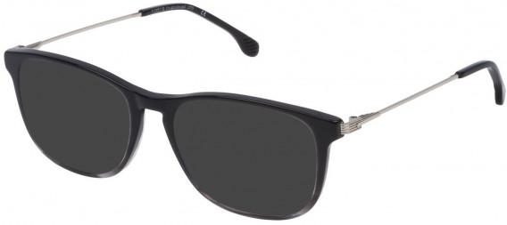Lozza VL4147 sunglasses in Shiny Black/Grey Gradient Crystal