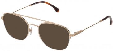 Lozza VL2352 sunglasses in Shiny Rose Gold