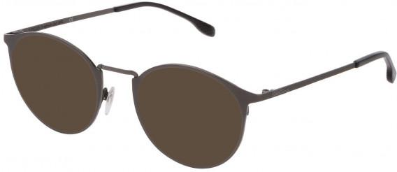 Lozza VL2341 sunglasses in Shiny Gun/Sandblasted