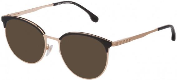 Lozza VL2340 sunglasses in Shiny Rose Gold
