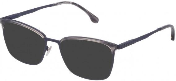 Lozza VL2339 sunglasses in Semi Matt Blue/Shiny