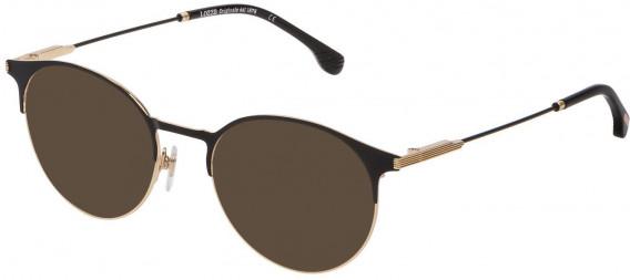 Lozza VL2334 sunglasses in Shiny Rose Gold