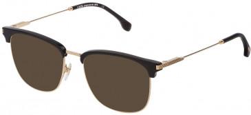 Lozza VL2333 sunglasses in Shiny Rose Gold