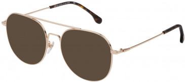 Lozza VL2330V sunglasses in Shiny Rose Gold