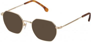 Lozza VL2329 sunglasses in Shiny Rose Gold