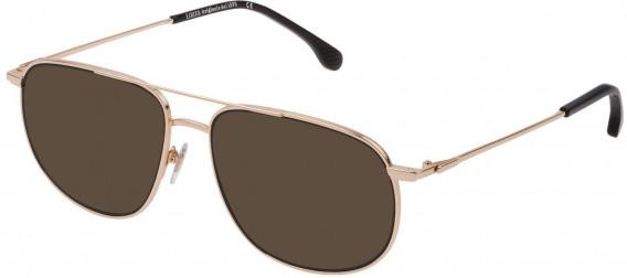 Lozza VL2328V sunglasses in Shiny Rose Gold