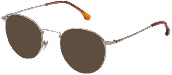 Lozza VL2322 sunglasses in Shiny Full Palladium