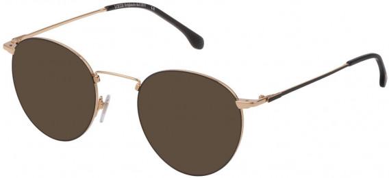 Lozza VL2322 sunglasses in Shiny Rose Gold/Black