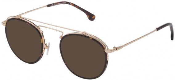 Lozza VL2316V sunglasses in Shiny Rose Gold