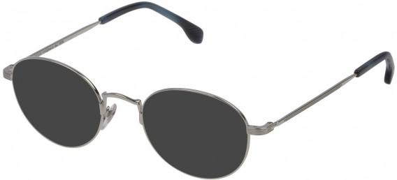 Lozza VL2309 sunglasses in Shiny Full Palladium