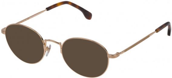 Lozza VL2309 sunglasses in Shiny Rose Gold