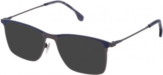 Lozza VL2295 sunglasses in Matt Gun Metal