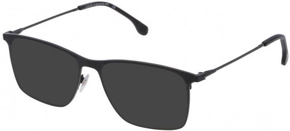 Lozza VL2295 sunglasses in Shiny Black