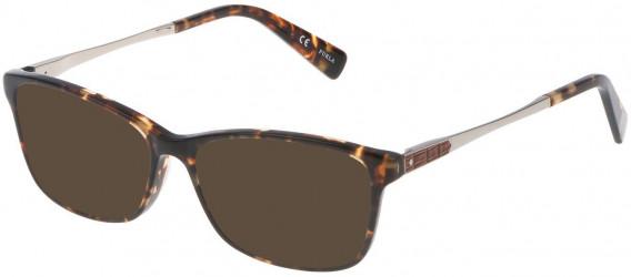 Furla VU4950N sunglasses in Shiny Striped Yellow Havana