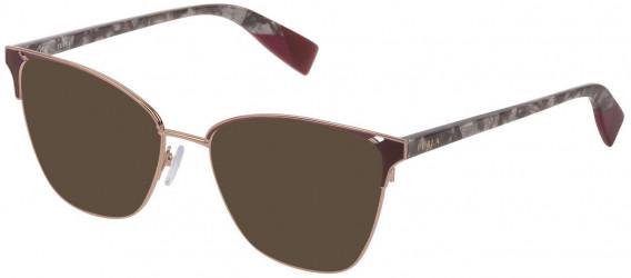 Furla VFU360 sunglasses in Shiny Camel/Coloured