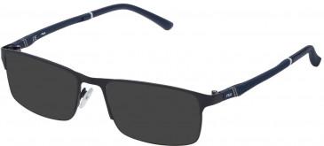 Fila VF9791 sunglasses in Matt Antiqued Blu Indigo