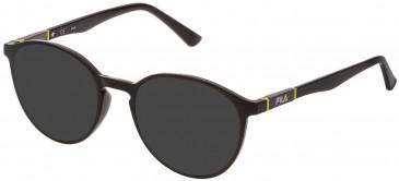 Fila VF9324 sunglasses in Shiny Black