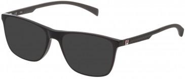 Fila VF9279 sunglasses in Shiny Black