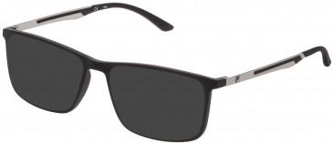 Fila VF9278 sunglasses in Matt Black