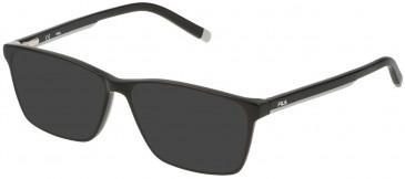 Fila VF9240 sunglasses in Shiny Black