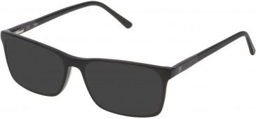 Fila VF9171 sunglasses in Shiny Black