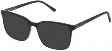 Fila VF9170 sunglasses in Shiny Black