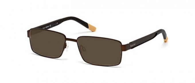 Timberland TB1302 glasses in matte dark brown