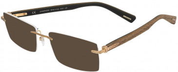 Chopard VCHC39 sunglasses in Shiny Satin Gun