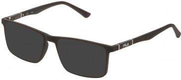 Fila VF9325 sunglasses in Full Matt Kaki