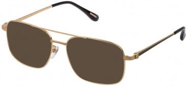 Dunhill VDH178G sunglasses in Matt Ruthenium