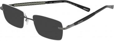 Chopard VCHC37 sunglasses in Gun
