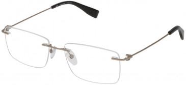 Trussardi VTR248 glasses in Matt Palladium