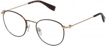 Trussardi VTR247 glasses in Matt Brown