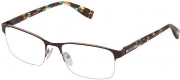 Trussardi VTR244 glasses in Shiny Gun