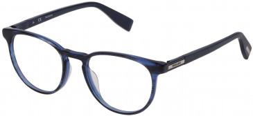 Trussardi VTR243 glasses in Shiny Black