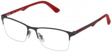 Police VPL693 glasses in Matt Full Gray